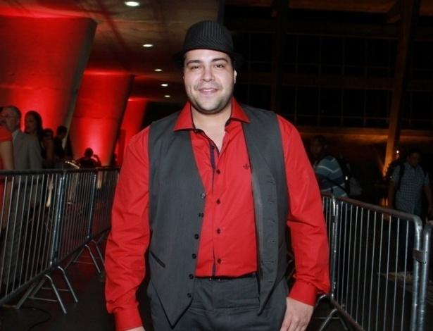 12.nov.2013 - Tiago Abravanel prestigiou a 15ª edição do Prêmio Extra de Televisão. O evento aconteceu em uma casa de shows do Rio