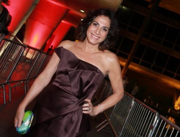 12.nov.2013 - Totia Meirelles prestigiou a 15ª edição do Prêmio Extra de Televisão. O evento aconteceu em uma casa de shows do Rio
