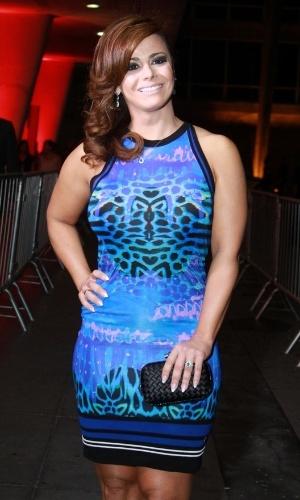 12.nov.2013 - Viviane Araújo prestigiou a 15ª edição do Prêmio Extra de Televisão. O evento aconteceu em uma casa de shows do Rio