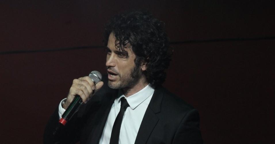 12.nov.2013 - Eriberto Leão na 15ª edição do Prêmio Extra de Televisão, no Rio de Janeiro