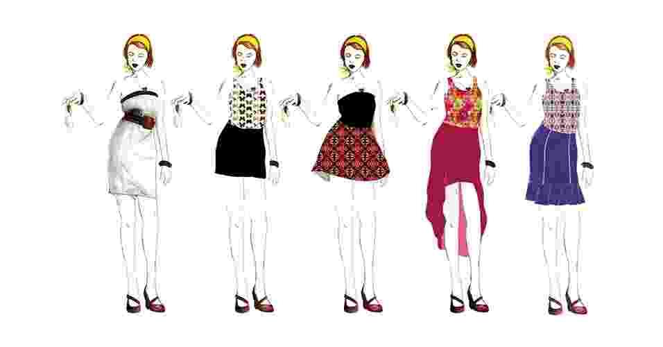 As saias são um clássico do guarda-roupa feminino e ficam ótimas no verão. Além de dar um respiro às pernas no calor, podem incorporar diferentes estilos e combinações - Nathalia Machado