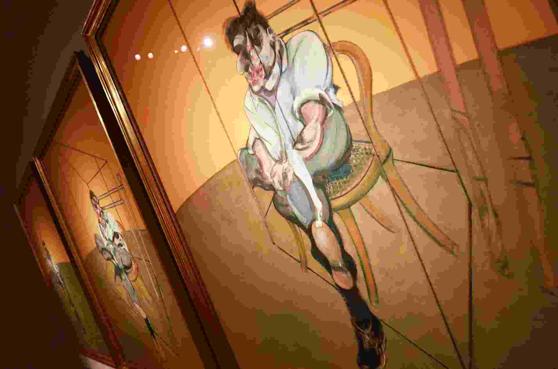 "Imagem do quadro ""Three Studies of Lucian Freud"", de Francis Bacon - Shannon Stapleton/Reuters"