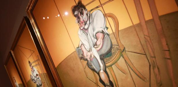 "Imagem do quadro ""Three Studies of Lucian Freud"", de Francis Bacon - Shannon Stapleton/Reuters"