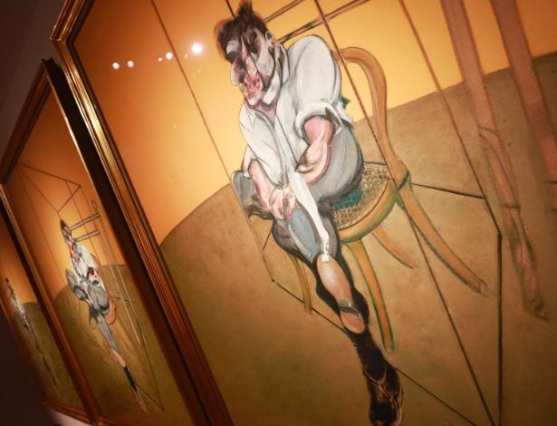 """Imagem do quadro """"Three Studies of Lucian Freud"""", de Francis Bacon; as autoridades espanholas não divulgaram os títulos das obras roubadas em Madri - Shannon Stapleton/Reuters"""