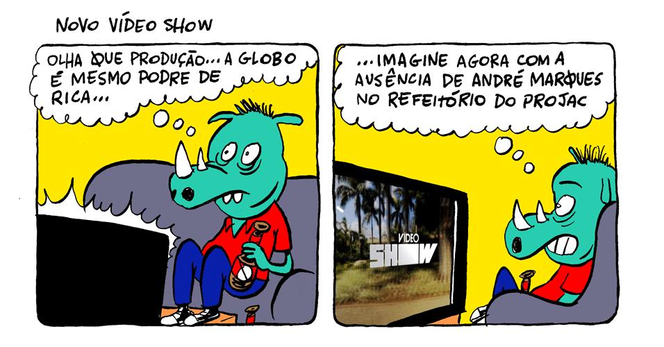 18.nov.2013 - Sem André Marques, novo Vídeo Show é a cara da riqueza