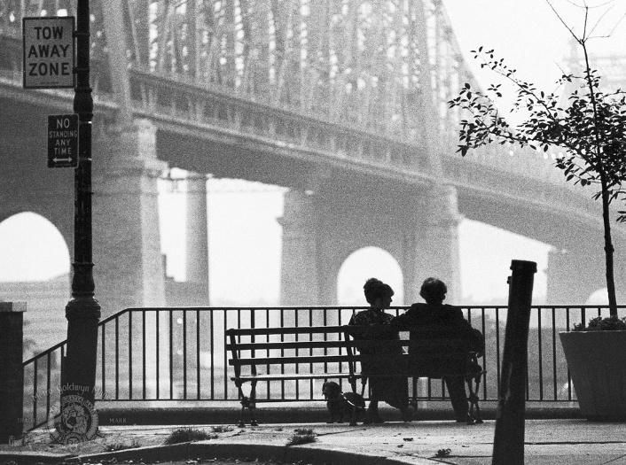 """Cena de """"Manhattan"""", de Woody Allen"""