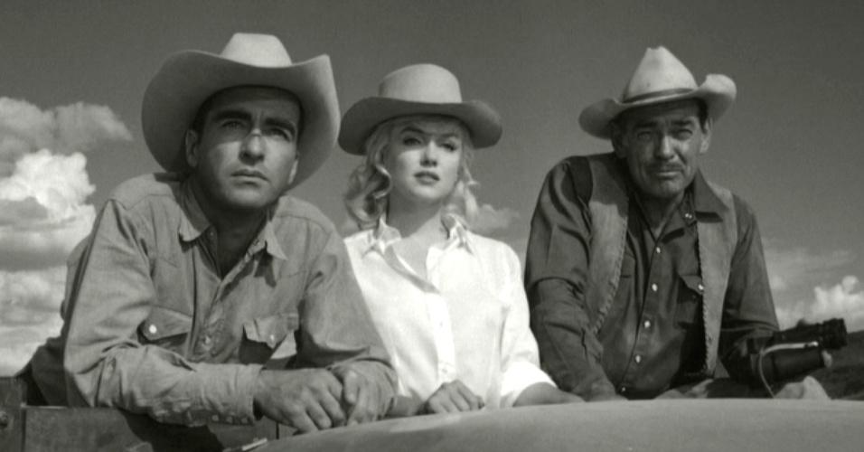 """""""Misfts"""" (1961) ? """"Os Desajustados"""" (ou """"Mistfs"""", no original) foi o último filme do astro Clark Gable, que morreu duas semanas após as filmagens, vítima de ataque cardíaco. Com Marilyn Monroe e Montgomery Clift, o drama de sotaque """"country"""" mostra uma divorciada desiludida que se aproxima de um grupo de cowboys desajustados. Tal """"desajuste"""" serviu de inspiração para Glenn Danzig formar o Misftis, em 1977, banda inventora do chamado horror punk"""
