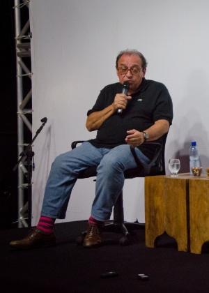 O escritor Ruy Castro, no Festival Internacional de Biografias, em Fortaleza - Henrique Kardoso