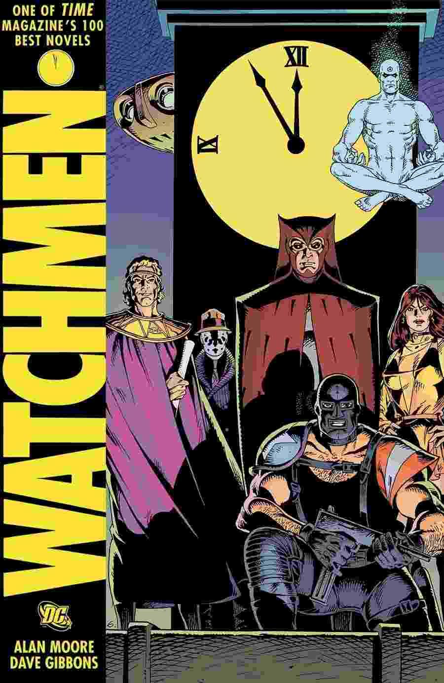"""""""WATCHMEN"""" - A série que ajudou a desmistificar os super-heróis, mostrando-os como seres (sobre)humanos vivendo no """"mundo real"""" - Reprodução"""