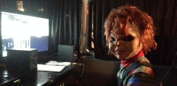 """O boneco Chucky é o novo protagonista das pegadinhas do """"Programa Silvio Santos"""""""