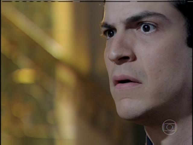 Félix se espanta com Bruno