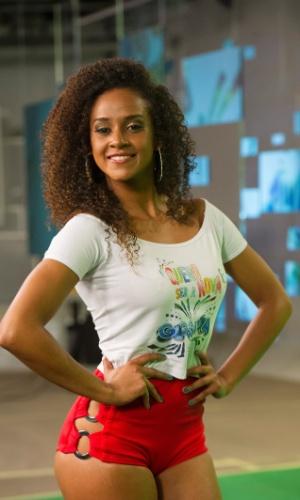 Flávia Mattos foi uma das cinco escolhidas pelos jurados. As finalistas passarão por uma nova prova no próximo domingo