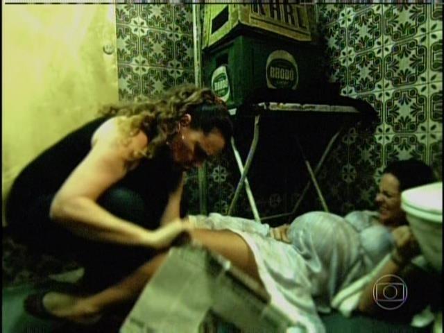 Márcia relembra noite em que Paloma deu à luz