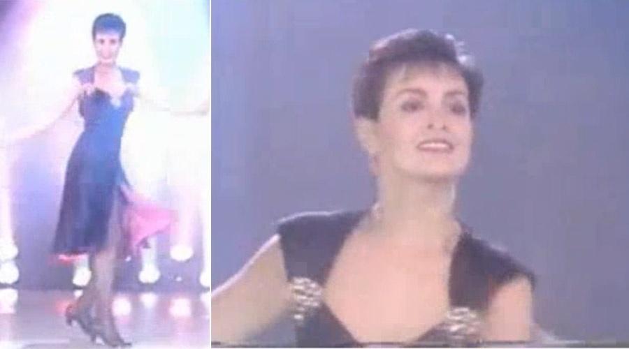 """Aproveitando o assunto do """"Encontro"""" do dia 18 de julho, o jornalista Lair Rennó mostrou fotos de quando Fátima dançava e mostrou um clipe que ela fez para a TV Globo em uma campanha de fim de ano: """"Invente, tente, faça um 92 diferente"""". No embalo, todos pediram para a apresentadora dançar, mas ela apenas brincou e se arriscou fazendo um """"plié"""", passo clássico do balé"""