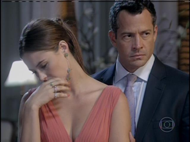 Paloma e Bruno ouvem César trocar farpas com Félix