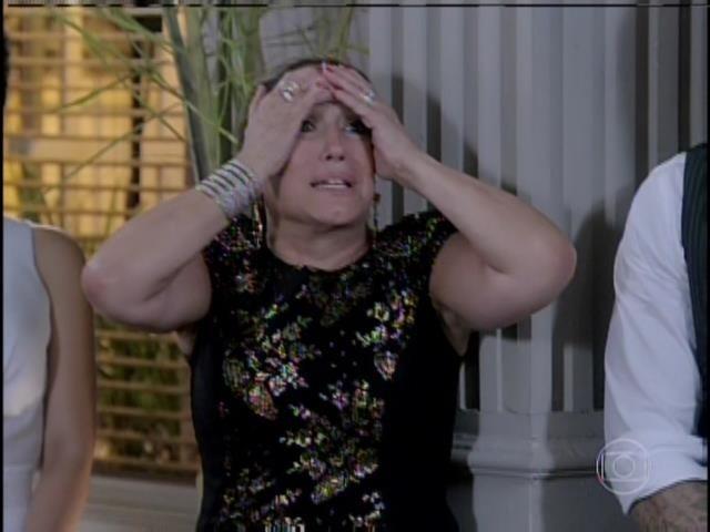 Pilar fica consternada com a revelação