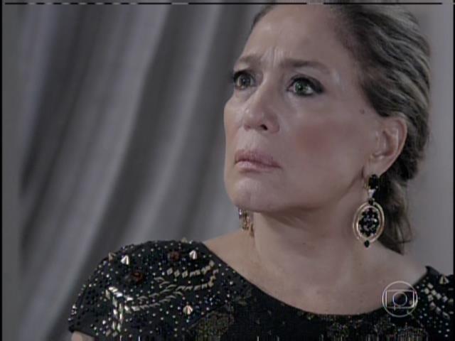 Pilar se choca com a revelação