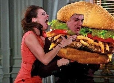 A fúria de Paloma (Paolla Oliveira) foi tão grande que Félix (Mateus Solano) virou um hambúrguer
