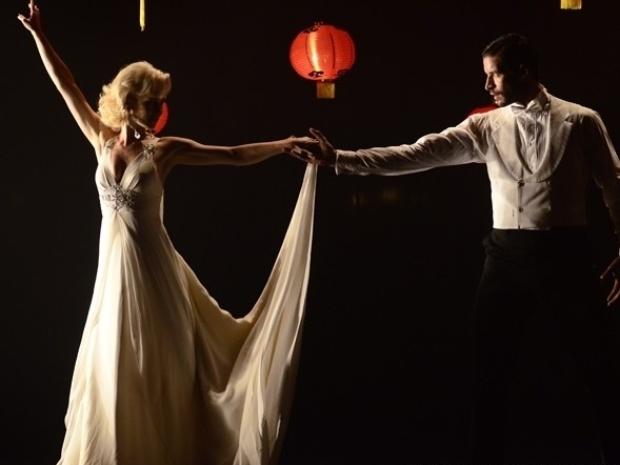 """Em """"Joia Rara"""", Aurora e Davi dançam"""