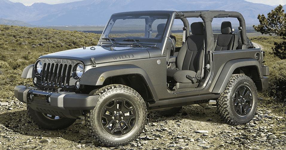 Jeep Wrangler Willys Wheeler Edition - Divulgação