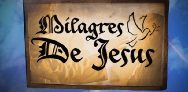 """2013 - Record está vendendo sua nova série bíblica, escrita por Renato Modesto, como """"Milagres de Jesus"""""""