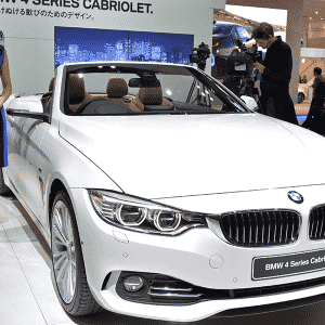 BMW Série 4 Conversível - Yoshikazu Tsuno/AFP