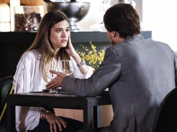 """Em """"Além do Horizonte"""", Lili termina noivado com Marcelo"""