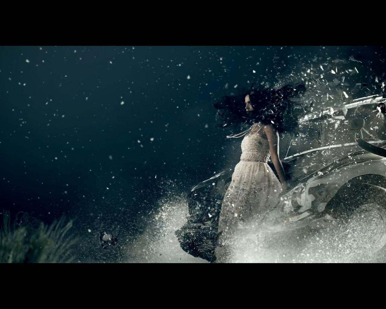 Katy Perry em cena do novo clipe