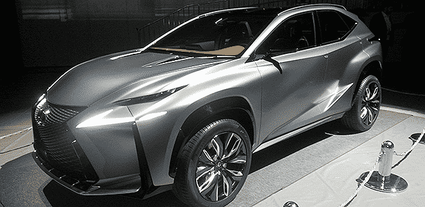 Lexus LF-NX terá motor turbo de 2 litros e apelo visual mais ousado que o Evoque - Claudio Luís de Souza/UOL