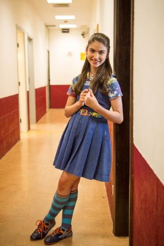 """14.nov.2013 -  A atriz Giovanna Grigio que vive a Mili em """"Chiquititas"""" disse que sempre sonhou em ser atriz e pretende estudar cinema quando tiver 18 anos"""