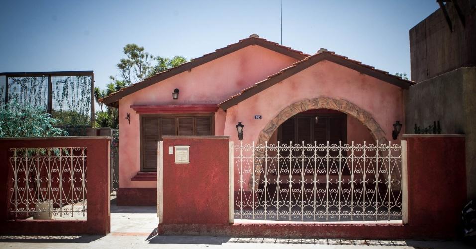 """14.nov.2013 - Detalhe para casa da Carol (Manuela do Monte) na cidade cenográfica de """"Chiquititas"""""""