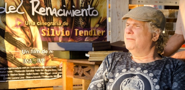 17.nov.2013 - O cineasta Silvio Tendler durante o 1º Festival de Biografias, em Fortaleza (CE) - Henrique Kardozo/FIB