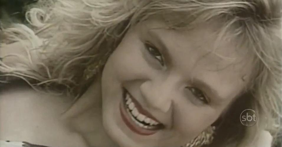 1990 - Eliana aparece em videoclipe do Banana Split. Ela se juntou ao grupo em 1990, após passar quatro anos no grupo Patotinha. Com o Banana Split, ela chegou a se apresentar no