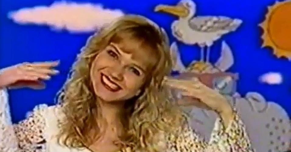 1991 - Eliana ganha seu primeiro programa, o