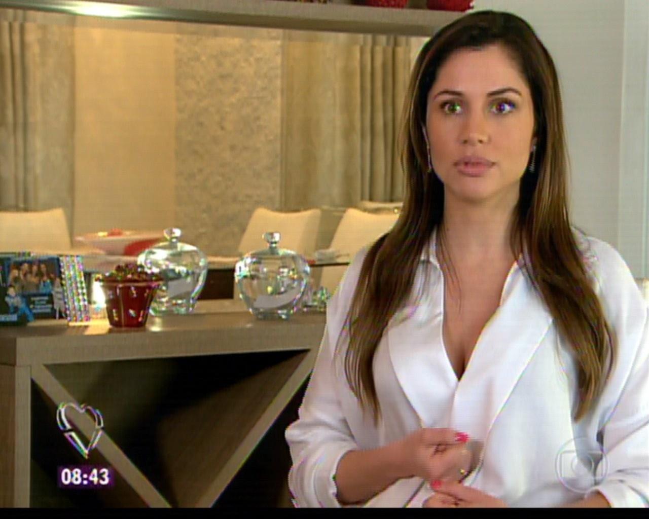 21.nov.2011 - Maria Melilo em entrevista exibida no