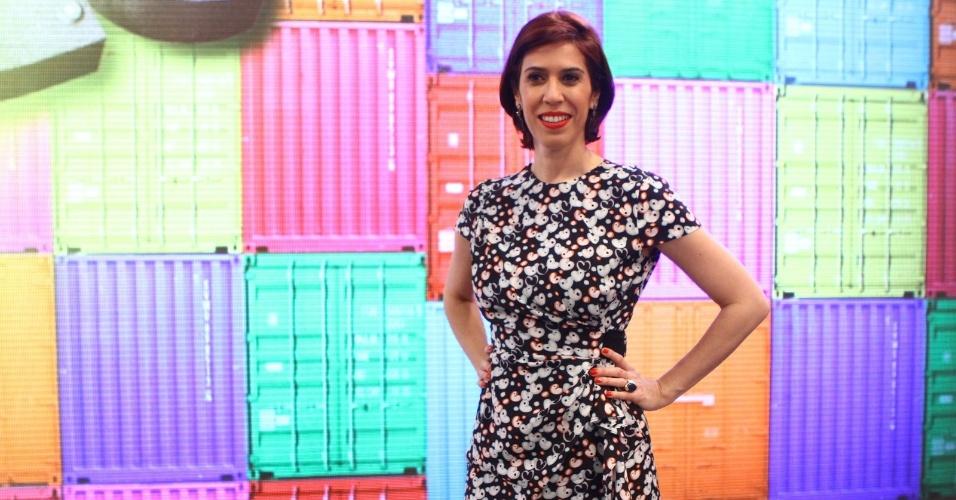 21.nov.2013- Maria Clara Gueiros está no elenco do programa que estreia dia 8 de dezembro na Globo