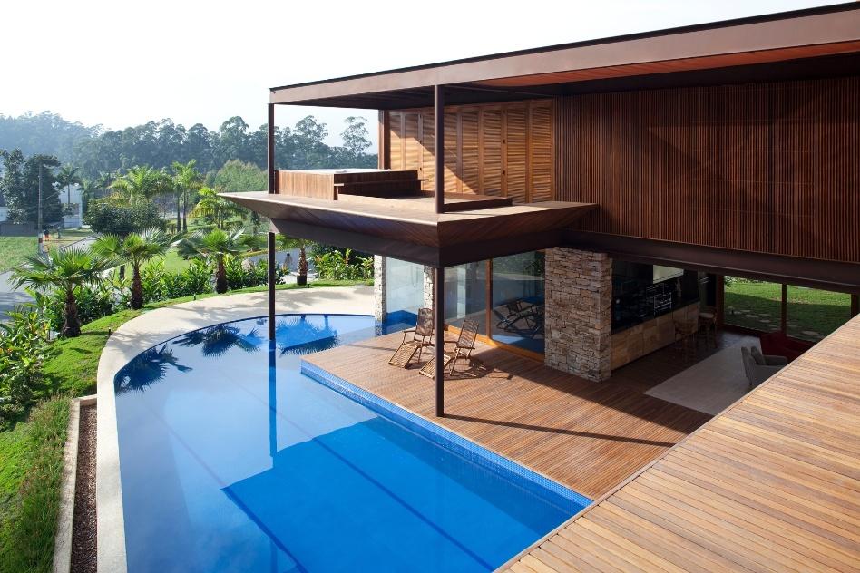 Piscina E Integra O Com A Natureza S O Destaques Em Casa
