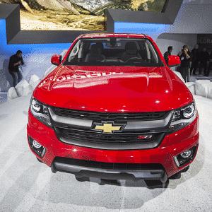 Chevrolet Colorado 2015 - Ringo Chiu/Xinhua