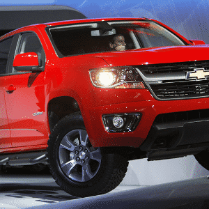 Chevrolet Colorado 2015 - David McNew/Getty Images