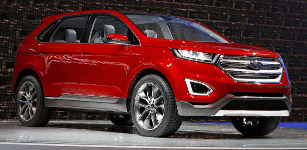 Ford Edge Concept - Mike Blake/Reuters - Mike Blake/Reuters