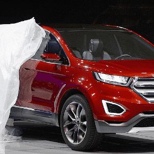 Ford Edge Concept - Gene Blevins/Xinhua