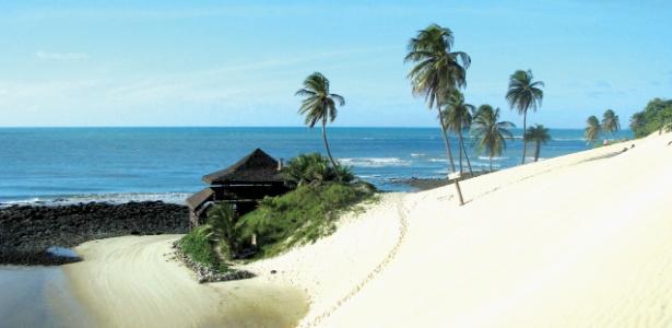 Praia em Natal: capital do RN já tem elevação de 250% no preços dos hotéis para o período da Copa