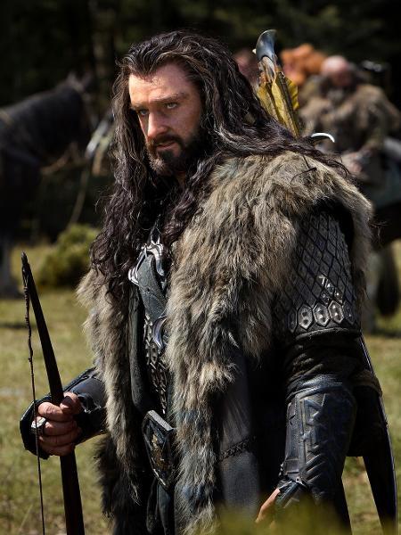 """Ator Richard Armitage, intérprete de Thorin Escudo-de-Carvalho, em """"O Hobbit"""" - Reprodução"""