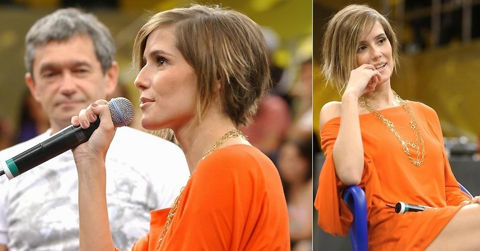 19.10.2007 - Fã de mudanças, Deborah Secco adora mexer com o visual. Depois de ficar loira e fazer apliques, dessa vez ela deixa os cabelos bem curtos