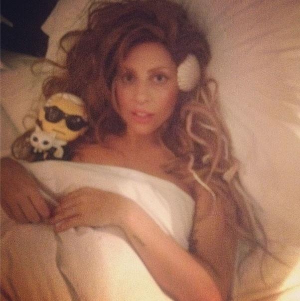 25.nov.2013 - A cantora Lady Gaga tem mais de 2,3 milhões de seguidores no Instagram
