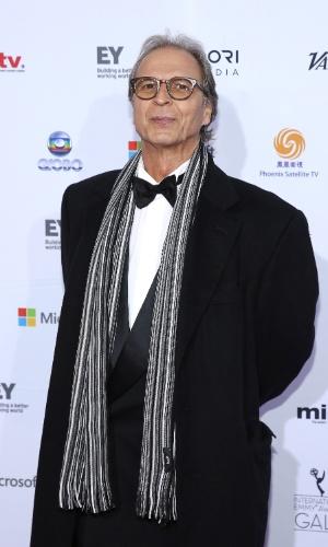 25.nov.2013 - O escritor Euclydes Marinho na 41ª edição do Emmy Internacional que acontece em Nova York