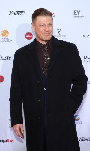 25.nov.2013 - Sean Bean na 41ª edição do Emmy Internacional que acontece em Nova York
