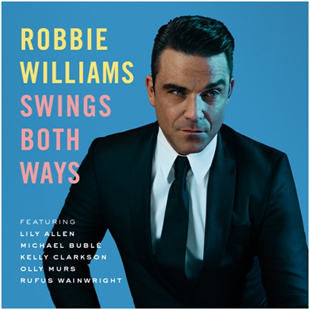 Capa do novo disco de Robbie Williams