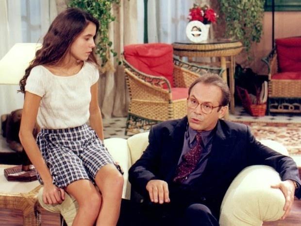 Em 1995, Deborah Secco atuou na novela