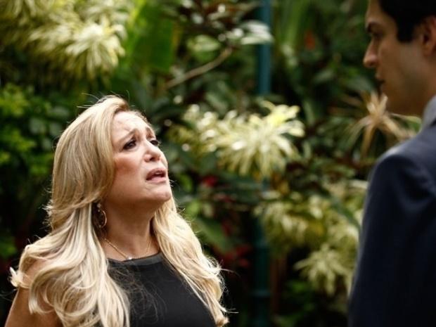 """Em """"Amor à Vida"""", Pilar diz a Félix que César gostava mais do outro filho"""